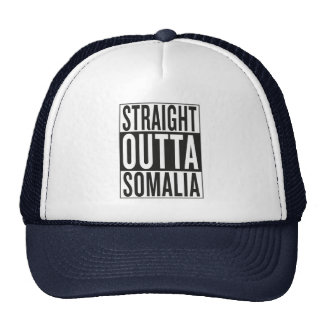straight outta Somalia Trucker Hat