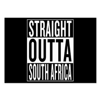 straight outta South Africa Large Business Card