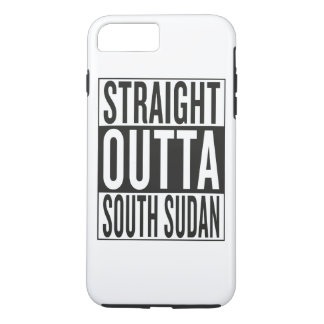 straight outta South Sudan iPhone 7 Plus Case