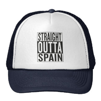 straight outta Spain Trucker Hat