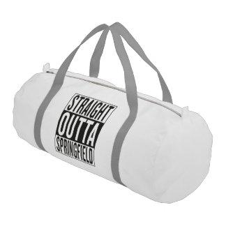 straight outta Springfield Gym Bag