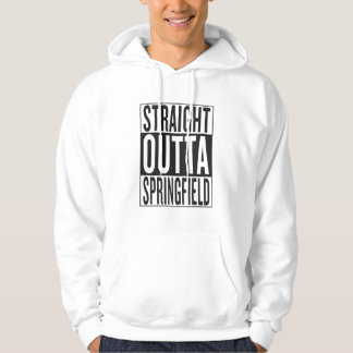 straight outta Springfield Hoodie
