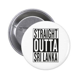 straight outta Sri Lanka 2 Inch Round Button