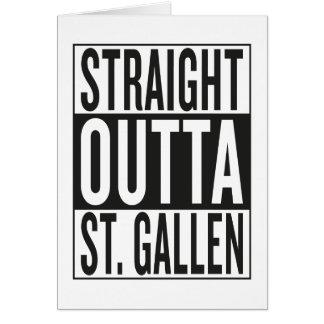 straight outta St. Gallen Card