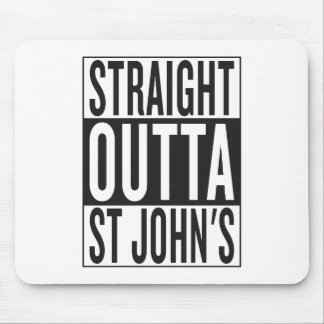 straight outta St John's Mouse Pad