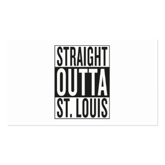 straight outta St. Louis Business Card