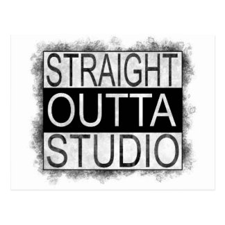 Straight outta STUDIO Postcard