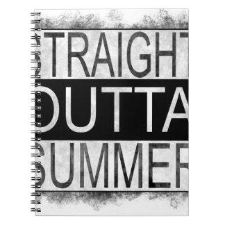 Straight outta SUMMER Notebook