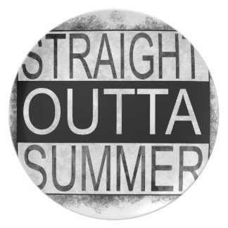 Straight outta SUMMER Plate