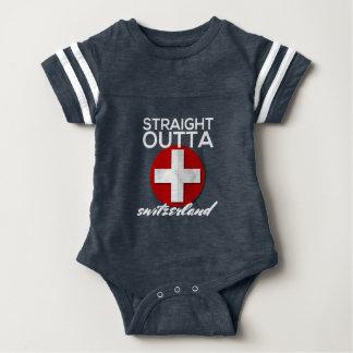 STRAIGHT OUTTA SWITZERLAND BABY BODYSUIT