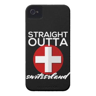 STRAIGHT OUTTA SWITZERLAND iPhone 4 CASE