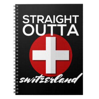 STRAIGHT OUTTA SWITZERLAND NOTEBOOK