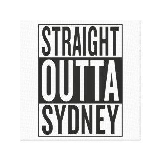 straight outta Sydney Canvas Print