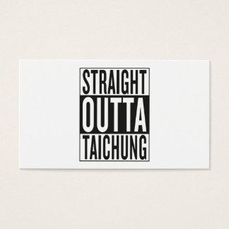 straight outta Taichung Business Card