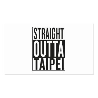 straight outta Taipei Business Card