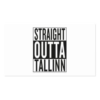 straight outta Tallinn Business Card