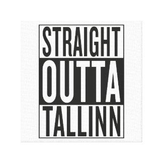 straight outta Tallinn Canvas Print