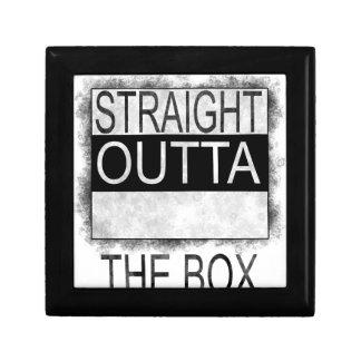 Straight outta the box