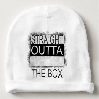 Straight outta the box baby beanie