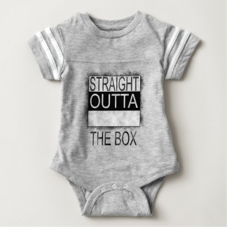Straight outta the box baby bodysuit