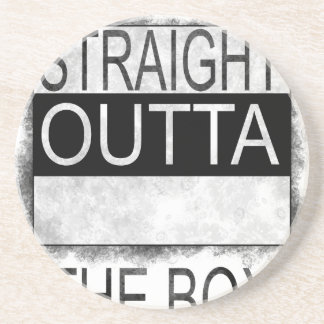 Straight outta the box coaster