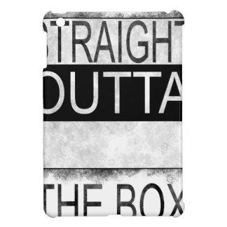 Straight outta the box iPad mini cover