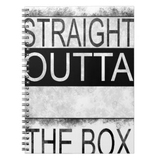 Straight outta the box notebooks
