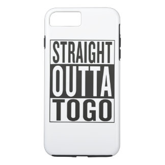 straight outta Togo iPhone 7 Plus Case
