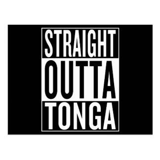straight outta Tonga Postcard
