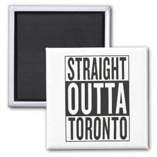 straight outta Toronto Square Magnet
