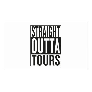 straight outta Tours Business Card