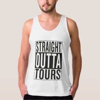 straight outta Tours Tank Top