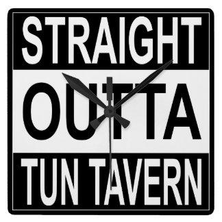 Straight Outta Tun Tavern Wallclocks