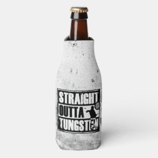Straight Outta Tungsten Darts Aiming Fluid Hugger Bottle Cooler
