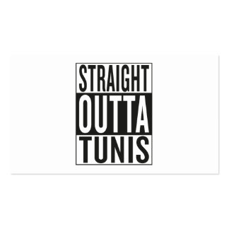 straight outta Tunis Business Card