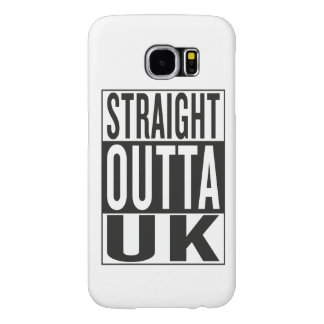 straight outta UK Samsung Galaxy S6 Cases