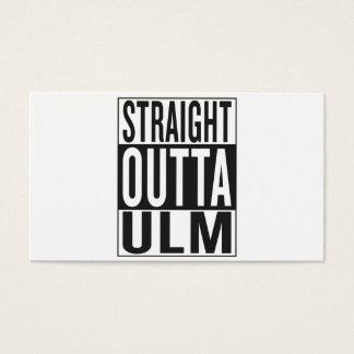 straight outta Ulm Business Card