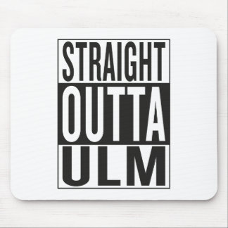 straight outta Ulm Mouse Pad