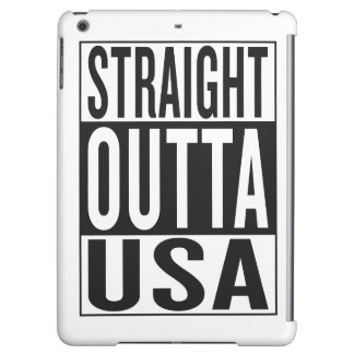 straight outta USA iPad Air Covers