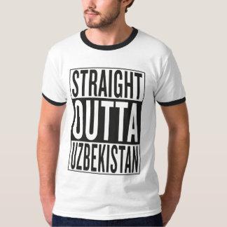 straight outta Uzbekistan T-Shirt