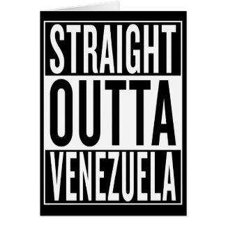 straight outta Venezuela Card