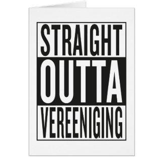 straight outta Vereeniging Card