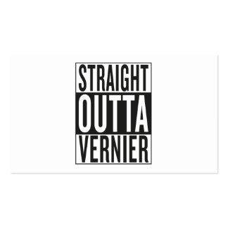 straight outta Vernier Business Card
