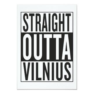 straight outta Vilnius Card
