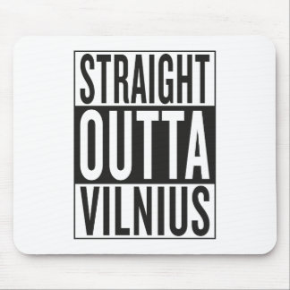 straight outta Vilnius Mouse Pad