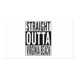 straight outta Virginia Beach Business Card