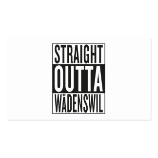 straight outta Wädenswil Business Card