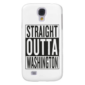 straight outta Washington