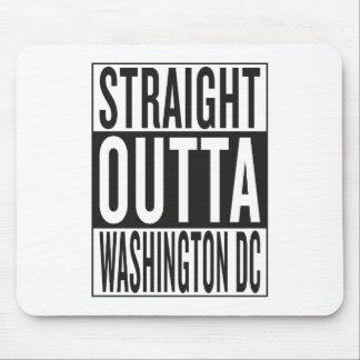 straight outta Washington DC Mouse Pad