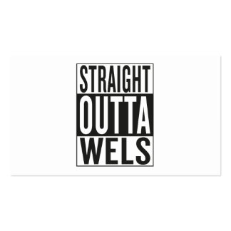 straight outta Wels Business Card